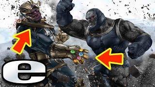 10 razones por las que Darkseid es más poderoso que Thanos