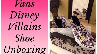 #467: Vans Disney Villains Shoes Unboxing! - LambCam