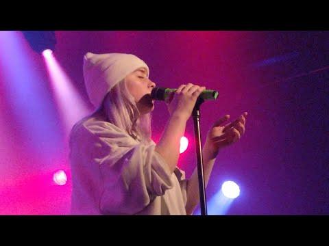Billie Eilish - Six Feet Under, live in Amsterdam, Melkweg
