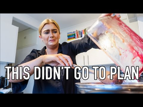 I LET ZARA LOOSE IN THE KITCHEN | COOKING WENT WRONG!