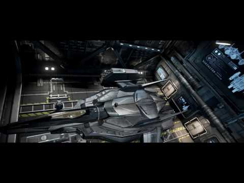 Starfighter Inc.'s Hyperion Heavy Fighter in Hangar