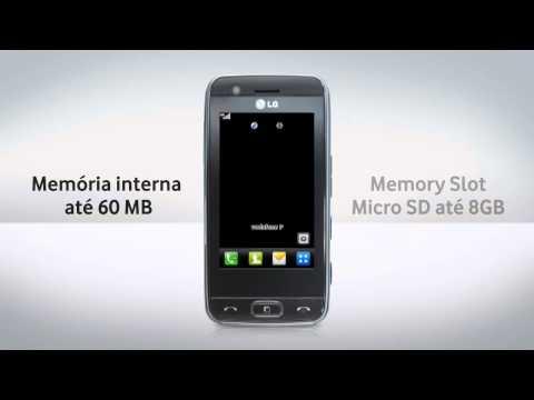LG GT505 - Apresentação do equipamento