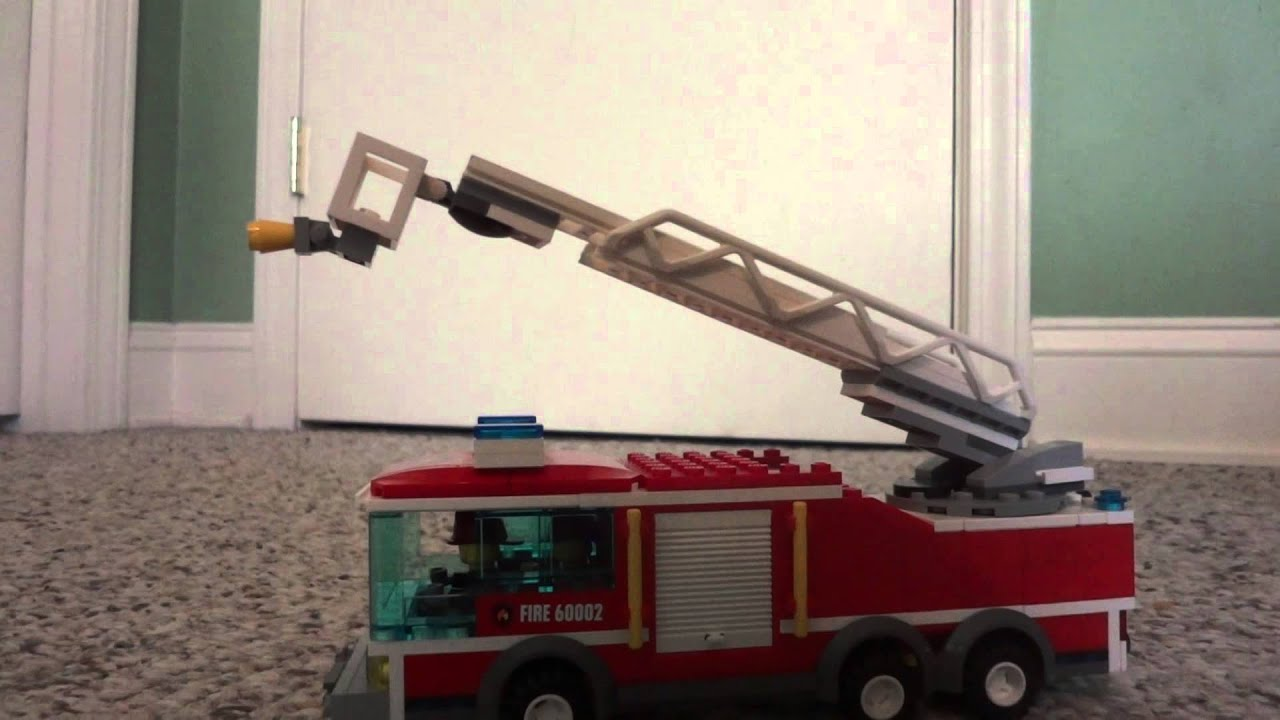 Lego Ladder Truck Moc Up Review Youtube
