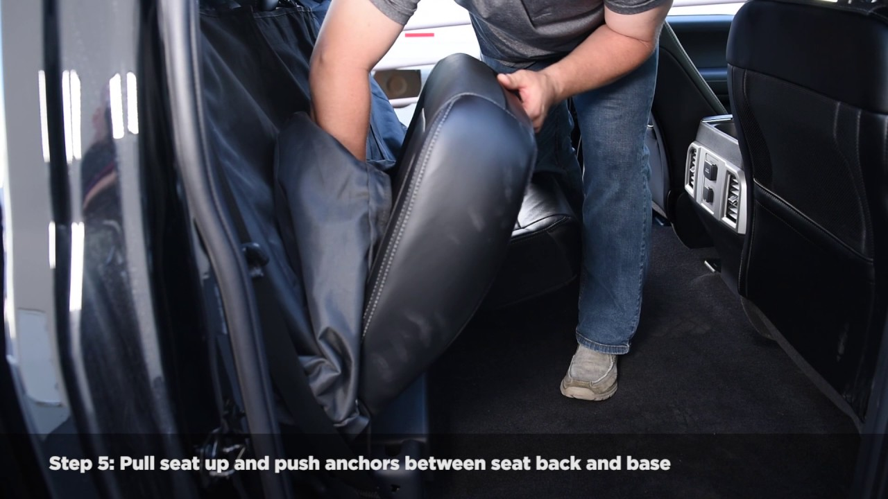 Spg Bench Seat Cover Installation Instructions Youtube