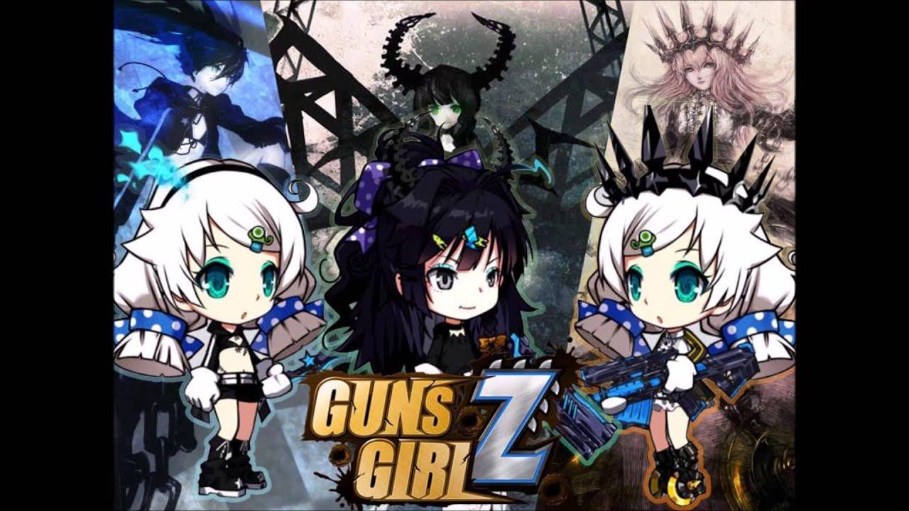 Anime Girls Guns Wallpaper Soundtrack Guns Girl School Dayz Vain On The Rooftop