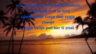 Nina Pušlar feat. Zlatko - Svet je tvoj lyrics