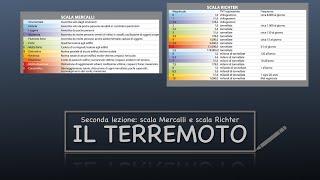 Intensità Di Un Terremoto : Scala Mercalli E Scala Richter