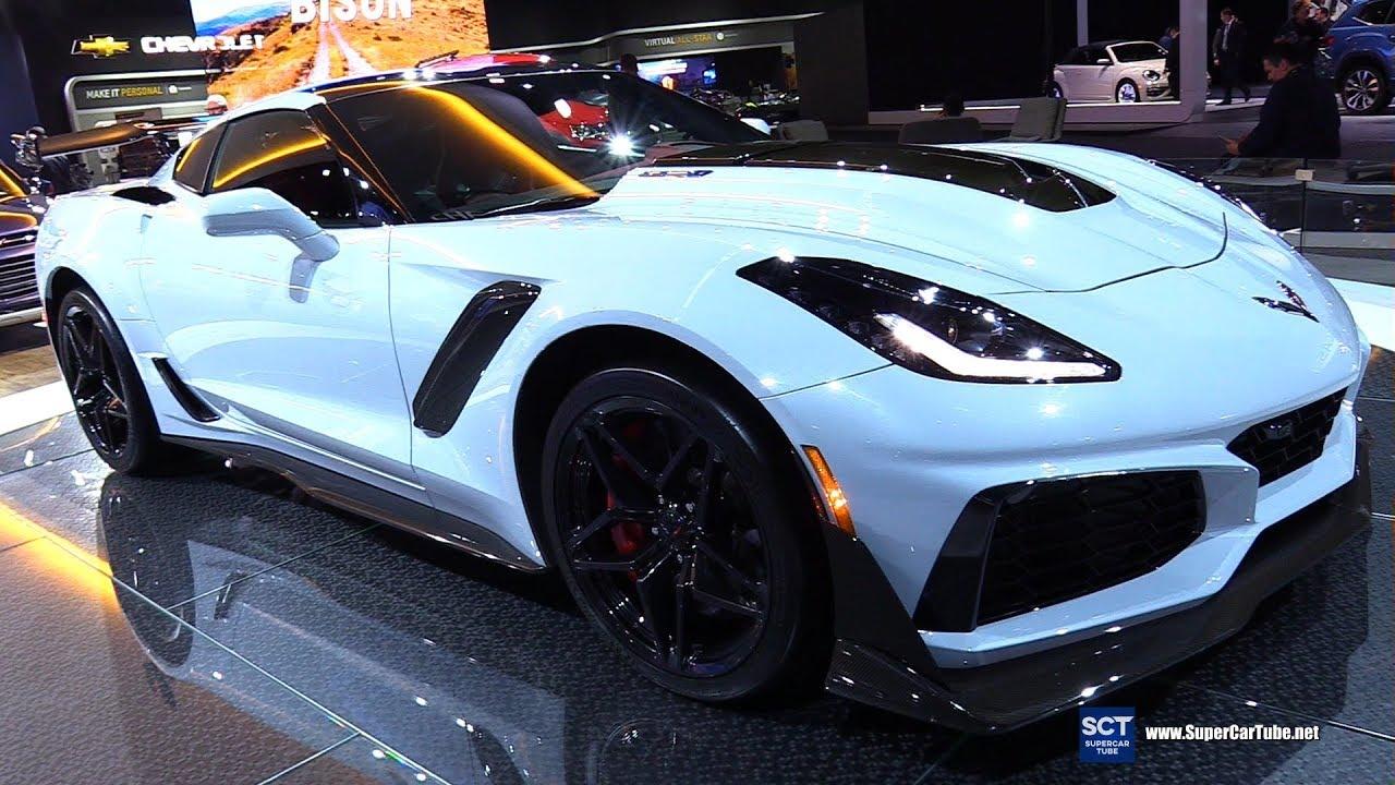 2020 Chevrolet Corvette Zr1 Exterior Walkaround 2018 La Auto Show