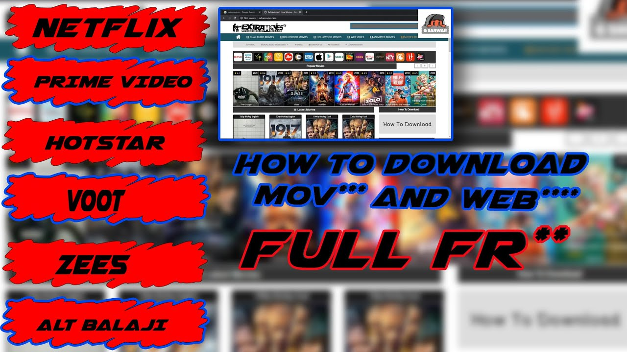 Download How to download latest movies & web series || just one click | watch full video ...