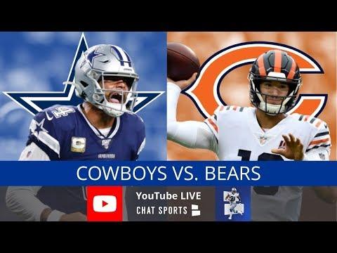 Cowboys vs. Bears Live Stream Reaction & Updates On Highlights - NFL Week 14 Thursday Night Football