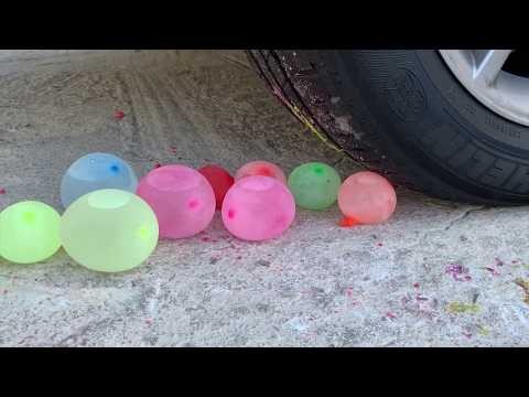 EXPERIMENT: Car VS BEER | POPCORN | BALLOON - Crushing Crunchy & Soft Things by Car Compilation!