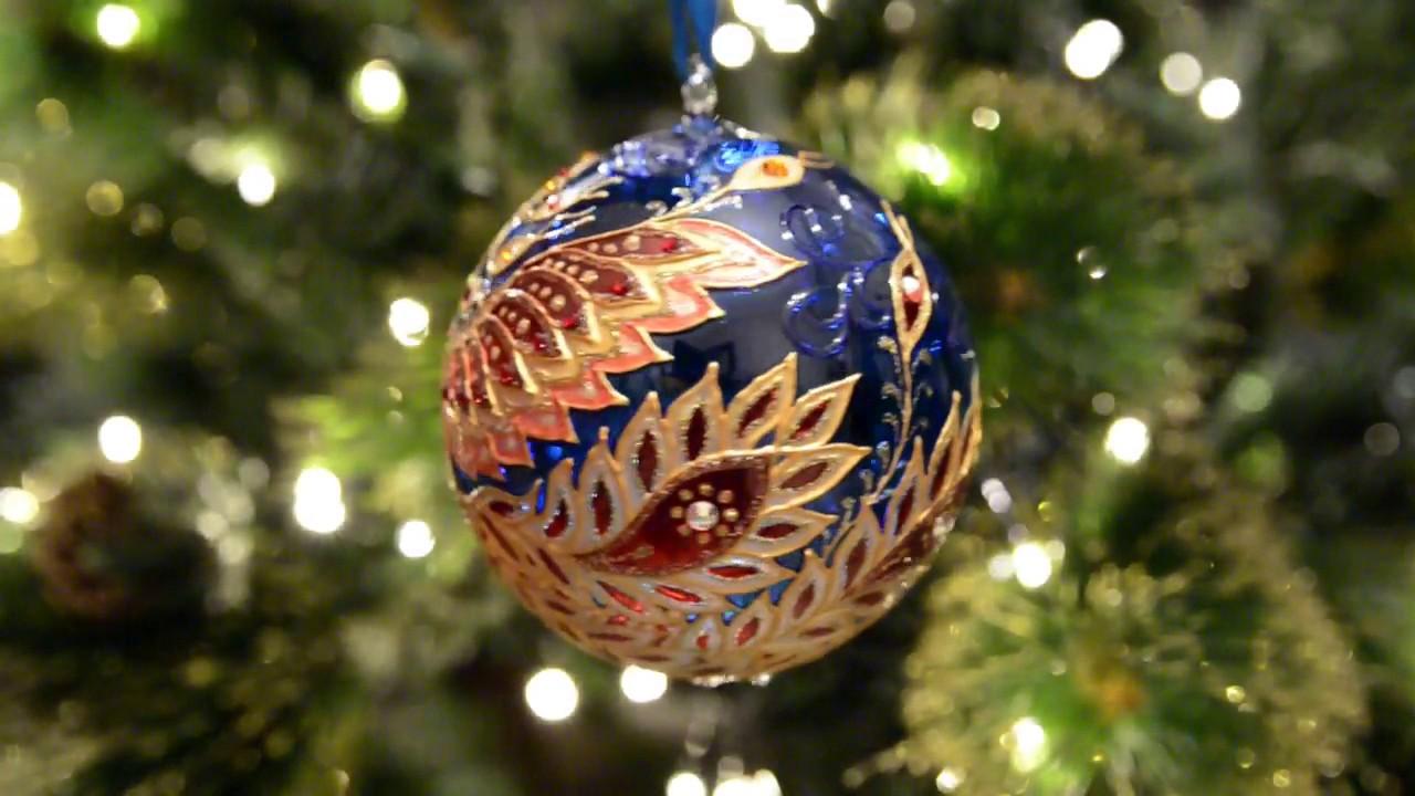 Купить елочные шары комбинированный, елочные игрушки, елочные шары, новый год 2017, рождество 2017.