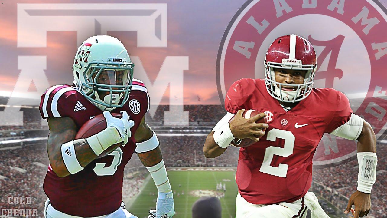 Texas A M Alabama Football 2016 Hype Video Youtube
