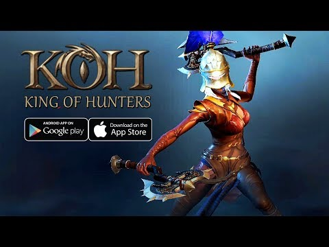 King Of Hunters (2020) - Battle Royale NEW CBT Gameplay (Android/IOS)