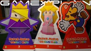"Nintendo Sent Us a Mystery ""Paper Mario"" Box! We Unbox"