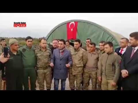 Kırşehirli Sanatçı Zeytin Dalı Marşını Sınırdaki Askerler İçin Söyledi