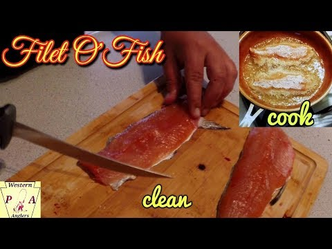 HOW TO CLEAN & COOK TROUT