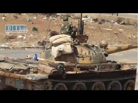 Tanks in Syria Party Hard with T-72 & BMP