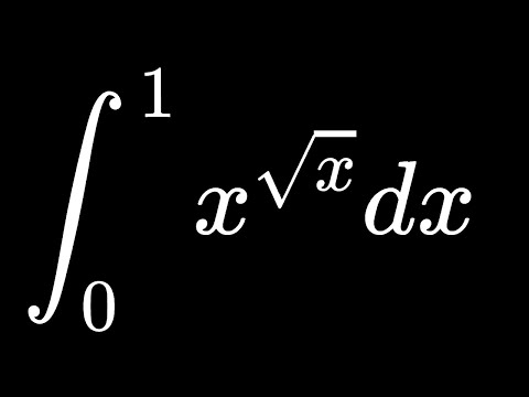 Integral X^sqrt(x) From 0 To 1