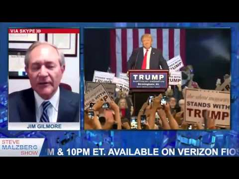 Malzberg | Gov. Jim Gilmore: Trump Is Talking Like A Fascist
