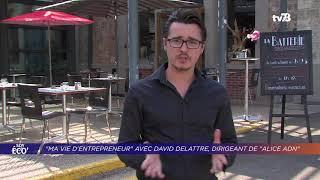 "Yvelines | ""Ma vie d'entrepreneur"" avec David Delattre, dirigeant d'Alice ADN"