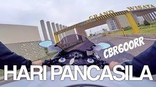 HiVLOG #20: CBR600rr Goes To STTD - UPACARA HARI PANCASILA W/ MENTERI PERHUBUNGAN