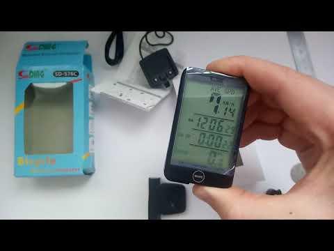 Беспроводной велокомпьютер Sunding Sd 576C (его обзор и настройка)