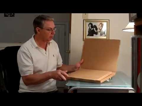 How to package and ship LP Records #2 new boxes, how to ship safely
