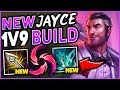 THIS *NEW* SEASON 9 JAYCE BUILD IS UNSTOPPABLE! INSANE 1V9 CARRY BUILD! - League of Legends