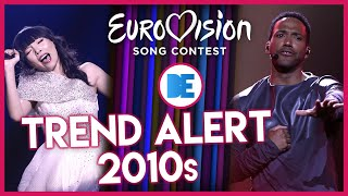 Eurovision: Yearly Trends of the 2010s