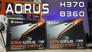 Aorus H370 i B360 - Gaming 3 WiFi - test i recenzja - VBT