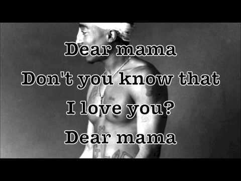 Tupac  Dear Mama Remix Ft Anthony Hamilton