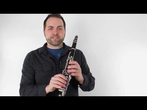 """Clarinet - How to Play """"Let it Go"""" from FROZEN"""