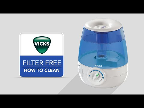 Vicks Filter-Free Ultrasonic Cool Mist Humidifier V4600 - How to Clean