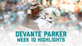 DeVante Parker's 103-Yard Performance! | Dolphins vs. Chargers | NFL Week 10 Player Highlights