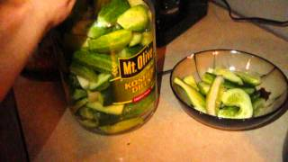 How To Make Homemade Refrigerator Dill Pickles