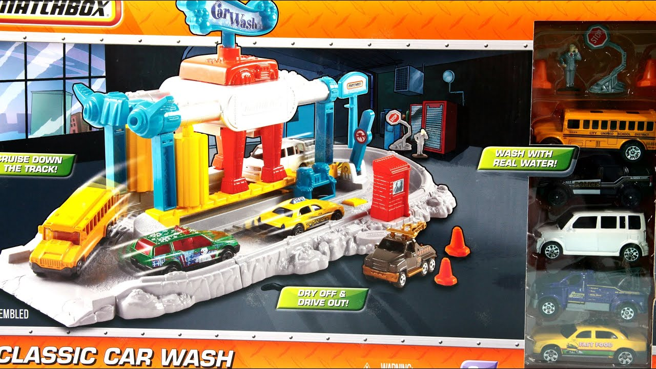 Toy Car Wash With Real Water