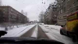 ПИТЕРСКИЙ ДРИФТ - В СНЕГОПАД 26 ДЕКАБРЯ 2014