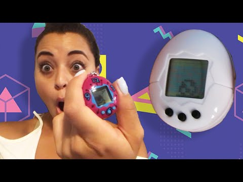 '90s Kids Play With The New Tamagotchi
