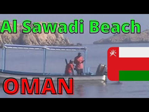 Beach at Al Sawadi Beach Resort & Spa in Oman