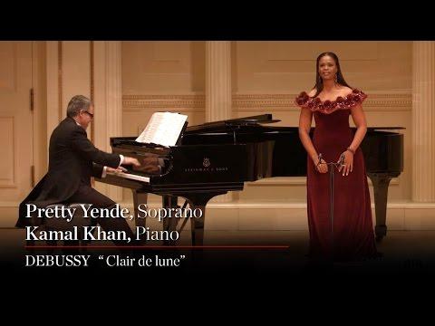 Soprano Pretty Yende Sings Debussys Clair de lune