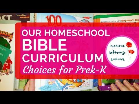 What Resources I Use To Teach Bible in Our Homeschool || Preschool - Kindergarten 📚