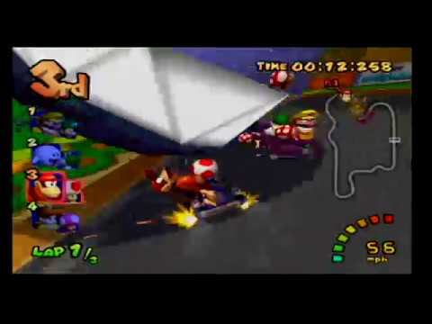 Mario Kart Double Dash Toad & Diddy Kong Purely Random Items
