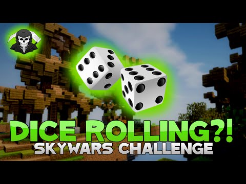THE DICE ROLLING CHALLENGE! ( Hypixel Skywars )