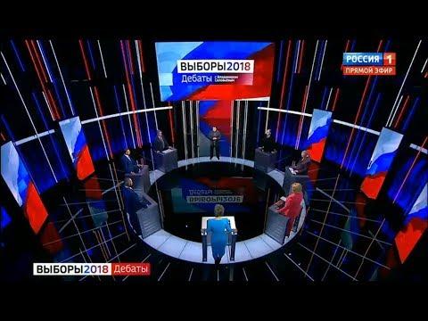 Дебаты-2018 у Соловьева от 05.03.2018 (Полная версия)