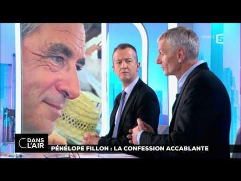 Pénélope Fillon : la  confession accablante #cdanslair 03-02-2017