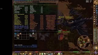 87/76 a/d black dragon solo- Eternal Lands