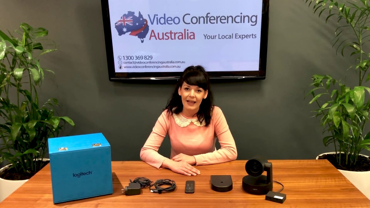 Logitech Rally Camera Zoom - Video Conferencing Australia