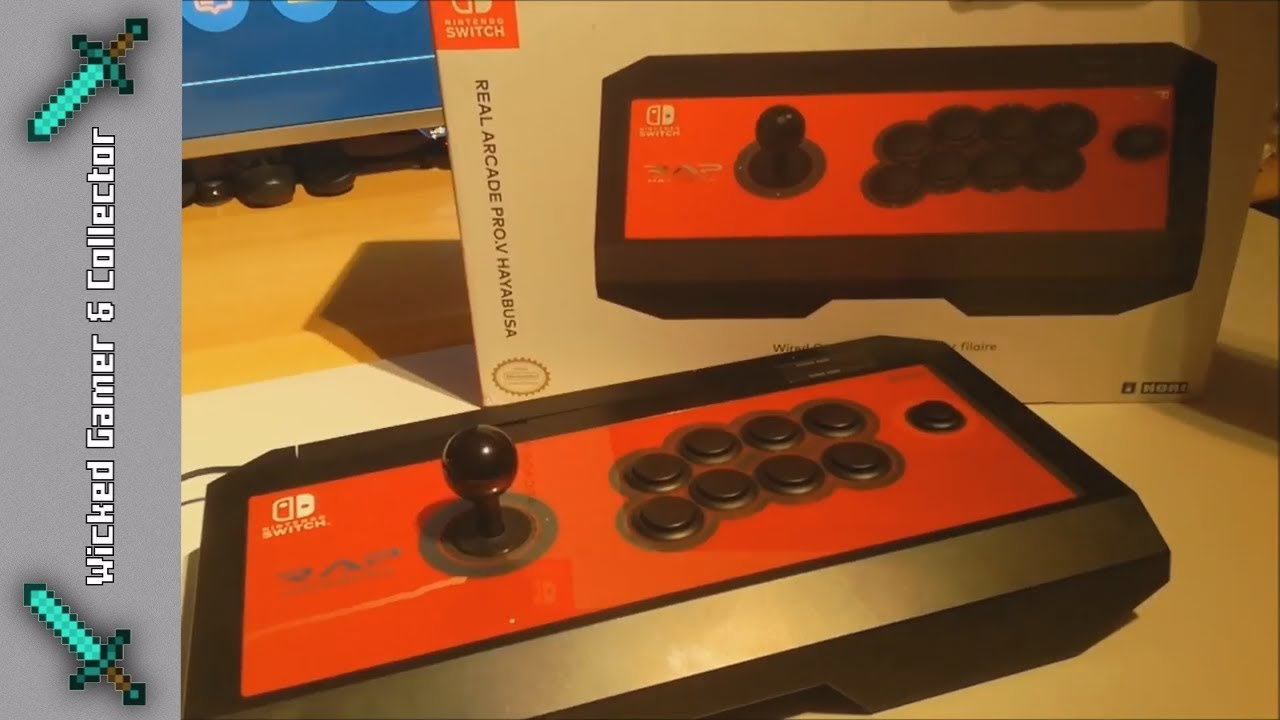 Nintendo Switch Hori Arcade Stick Controller Joystick