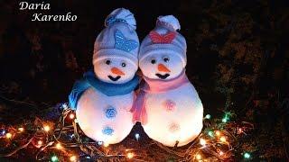 DIY Снеговик своими руками за 5 минут.  Мастер класс